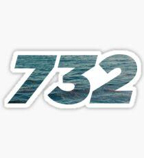 732 - New Jersey Pride Sticker