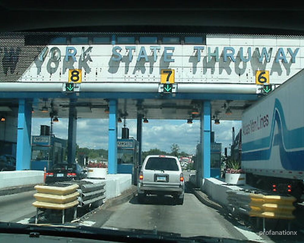 new york state thruway. by profanationx