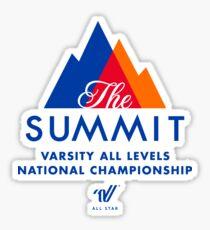 The Summit Cheerleading Sticker