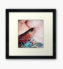 tattoo. Framed Print
