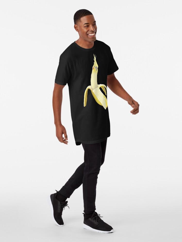Alternative Ansicht von Bananaaaa! - Nymphensittich Bananenmuster Longshirt