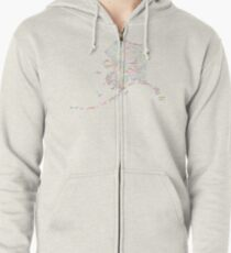 Alaska: Find Your Place Zipped Hoodie