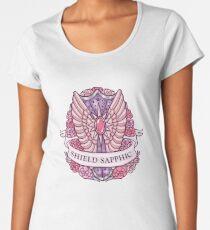 SHIELD SAPPHIC Frauen Premium T-Shirts