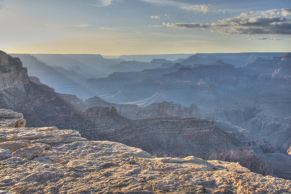 Canyon Dusk by noffi