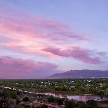 Pink Sunset by IOBurque