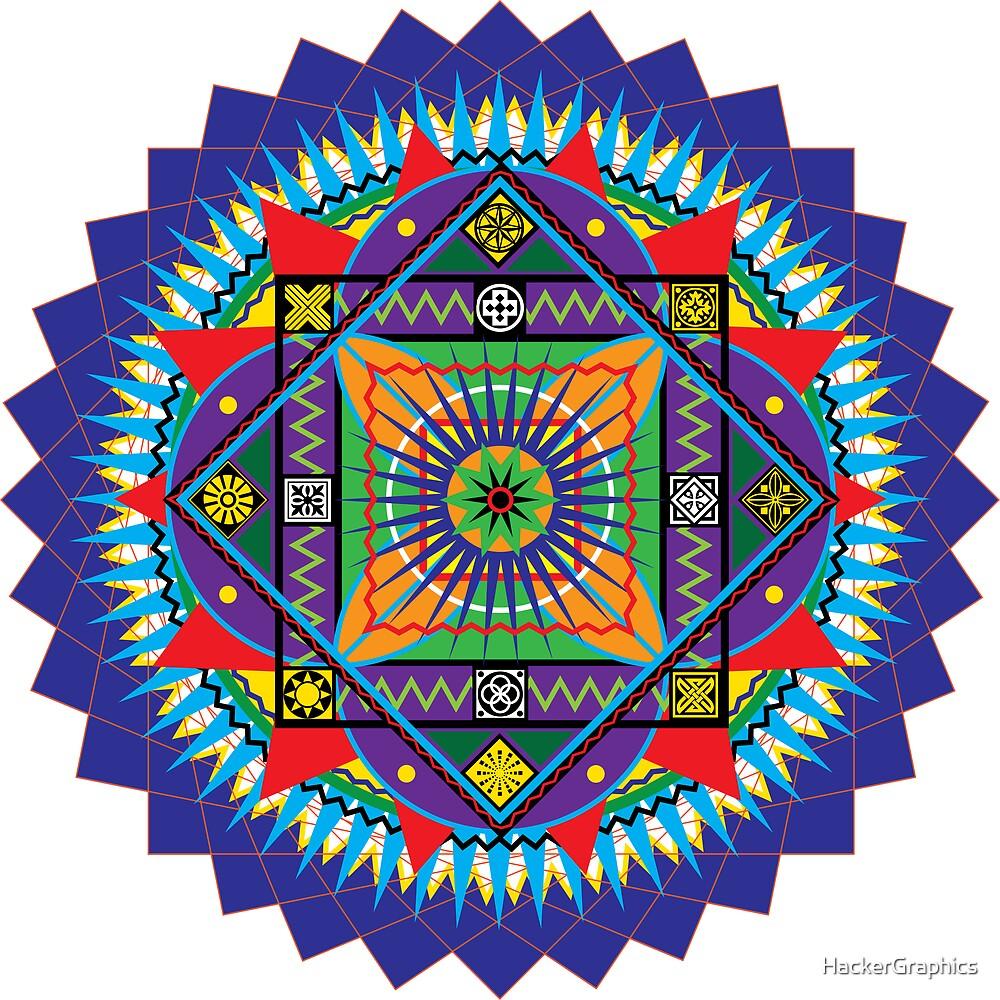 Mandala by HackerGraphics