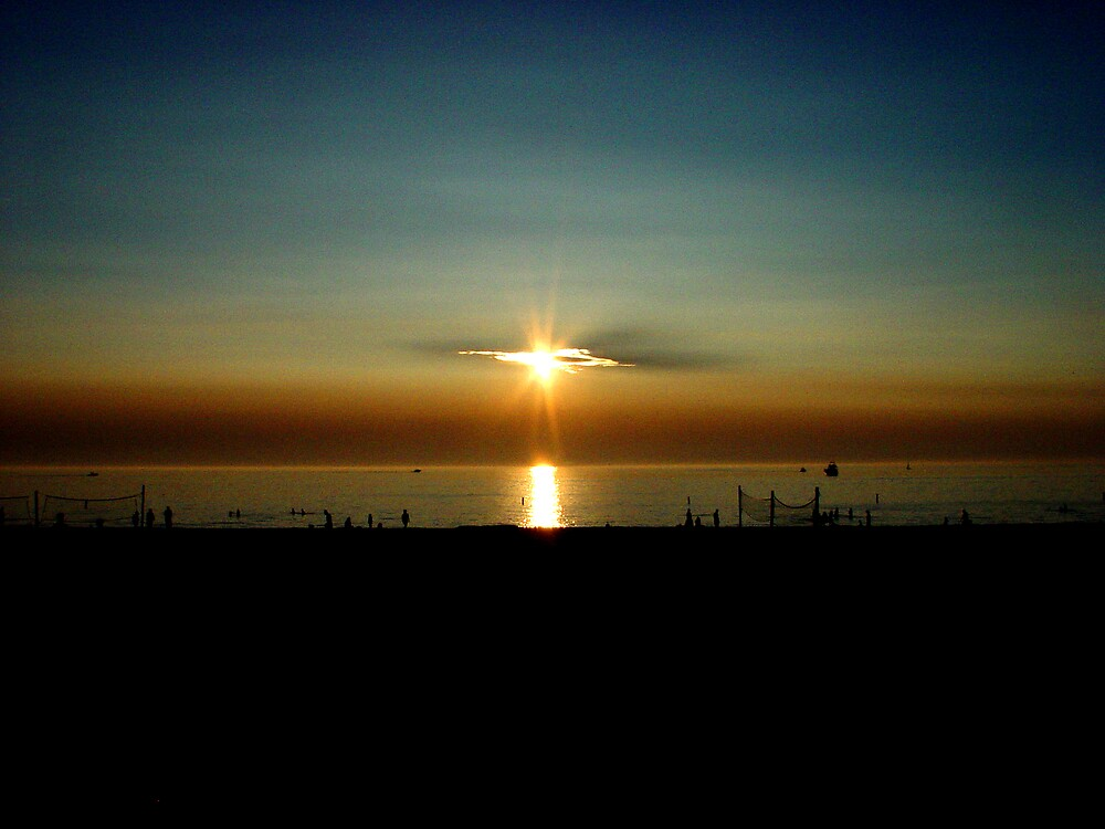 PinHole sunset by Dennis Burlingham