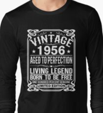 VINTAGE 1956 Long Sleeve T-Shirt