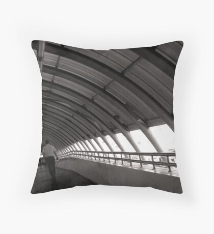 The Terminal Throw Pillow