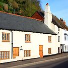 Minehead Cottages by Dave Law