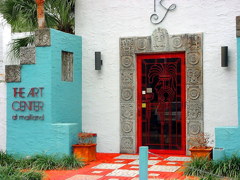 Maitland Art Center Entrance by Dennis Burlingham