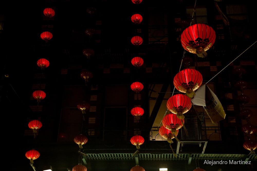 Red Lanterns by Alejandro Martinez