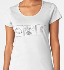 Michael Scott's Grilled Foot - The Office Women's Premium T-Shirt