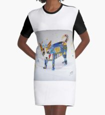 The Patchwork Dog Graphic T-Shirt Dress