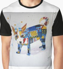 The Patchwork Dog Graphic T-Shirt