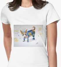 The Patchwork Dog Women's Fitted T-Shirt