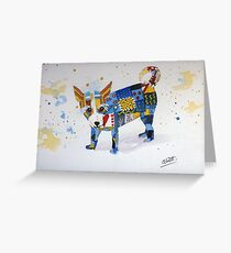 The Patchwork Dog Greeting Card