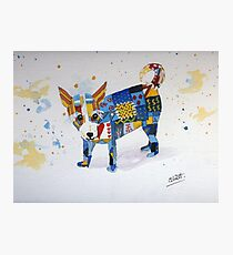 The Patchwork Dog Photographic Print