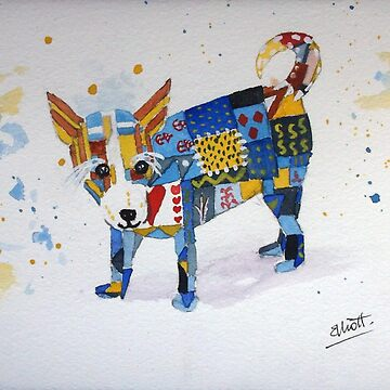 The Patchwork Dog by PatEll