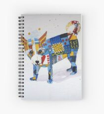 The Patchwork Dog Spiral Notebook