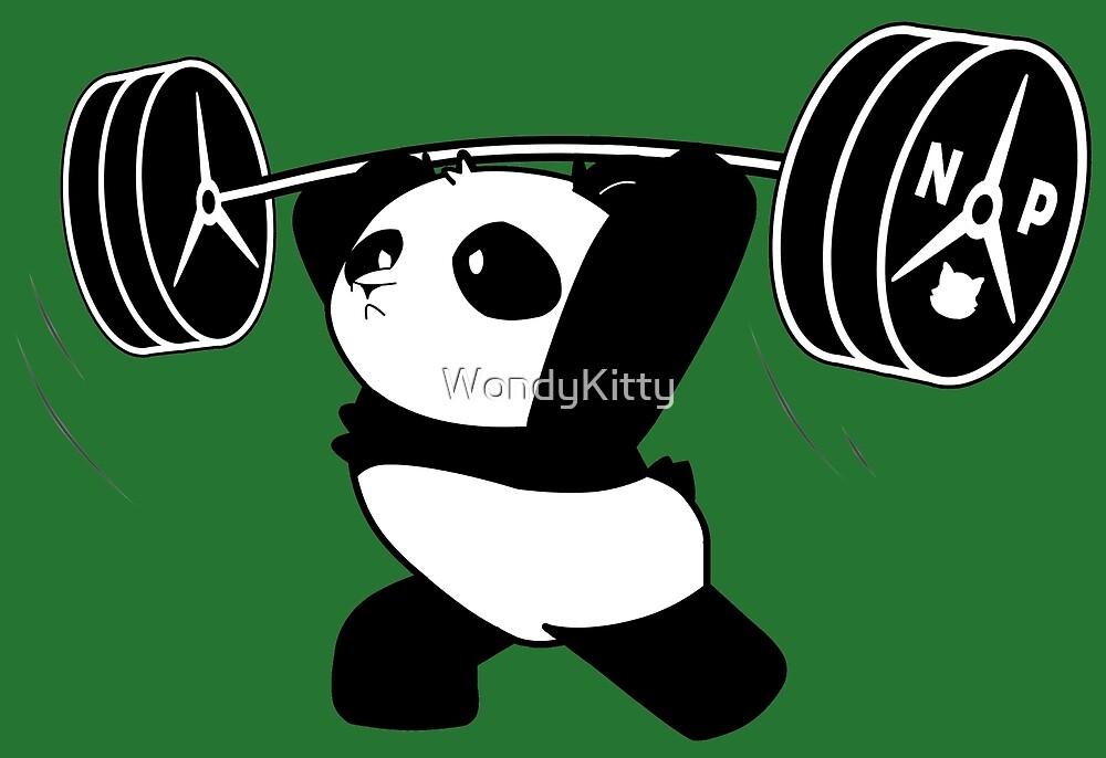 Nekuma Power Panda Lift By Wondykitty Redbubble