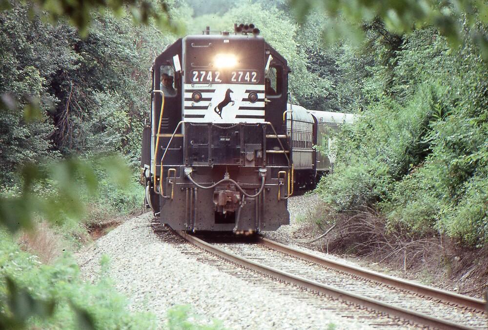 GP38 at Pisgah Forest, North Carolina by GMooneyhan