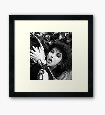 kate bush wuthering heights Framed Print