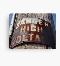 High Voltage II Canvas Print