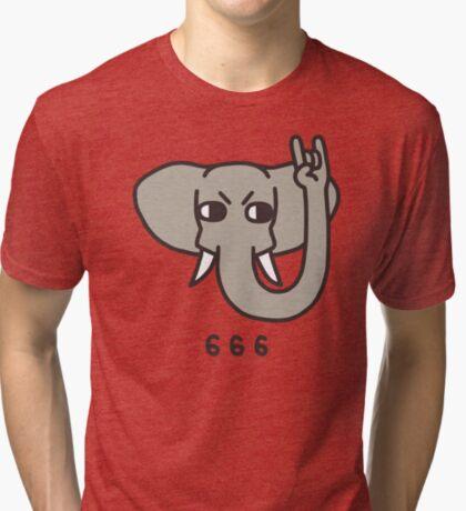 Metalephant Tri-blend T-Shirt