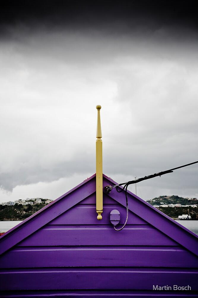 Not quite purple rain by Martin Bosch