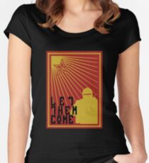Tachanka let them come Women's Fitted Scoop T-Shirt