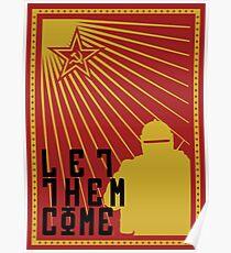 Tachanka let them come Poster