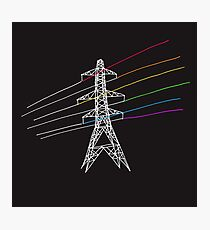 The Dark Side of Electricity Photographic Print