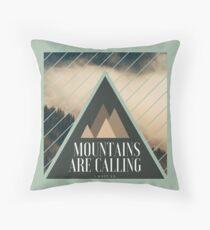 Mountains are Calling Coussin de sol