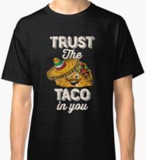 Cinco De Mayo Taco Lover Vintage Tacos Classic T-Shirt