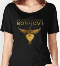 38feda549 bon jovi tour 2018 greatest hits mandir Relaxed Fit T-Shirt