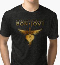 976925205 bon jovi tour 2018 greatest hits mandir Tri-blend T-Shirt