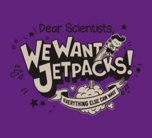 We Want Jetpacks! by pijaczaj