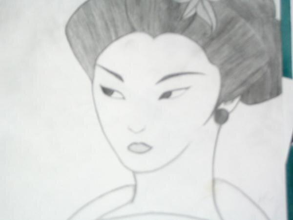 Asian Lady by K C