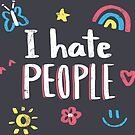 I hate people by Paula García
