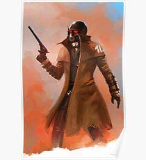 Fallout NCR Ranger Fan Art Poster  Poster