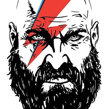 Kratos Bowie by keithmagnaye