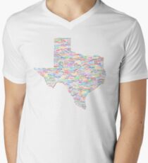 Where Y'all From? Men's V-Neck T-Shirt