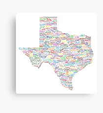 Where Y'all From? Canvas Print