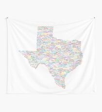 Where Y'all From? Wall Tapestry
