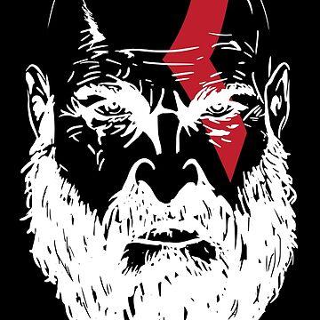 Kratos by keithmagnaye