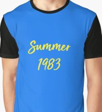5145af532088 summer 1983 - call me by your name Graphic T-Shirt