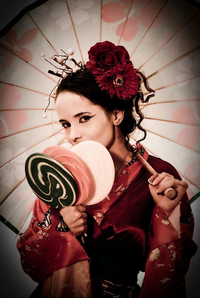 Lolli-Pop Geisha - Earhart Chappel Photography  by K C