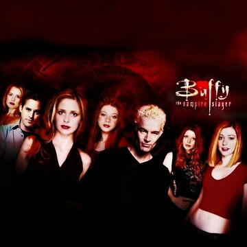 Buffy the Vampire Slayer by eviemae