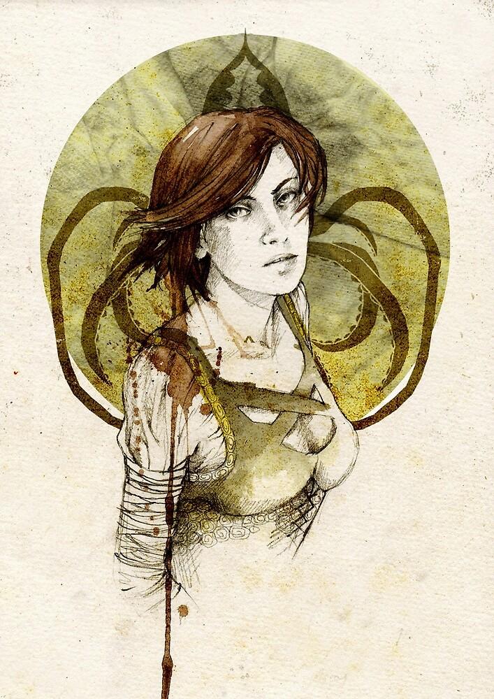 Asha Greyjoy by Elia Mervi